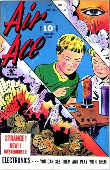 Air Ace (1945) 1-A by Street and Smith Publications