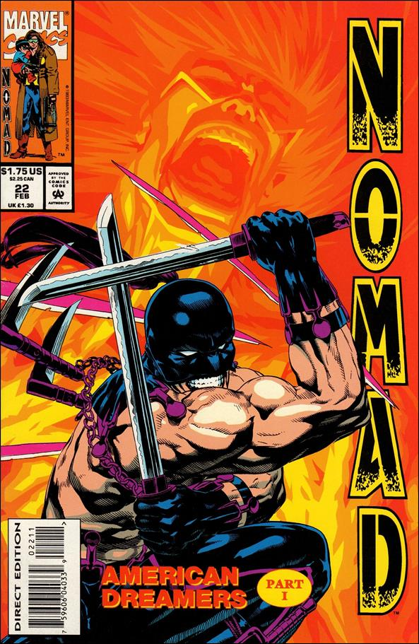 Nomad (1992) 22-A by Marvel