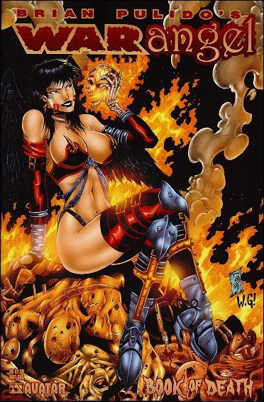 Brian Pulido's War Angel: Book of Death 1-C by Avatar Press