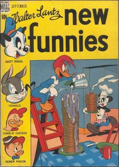 Walter Lantz New Funnies 139-A by Dell