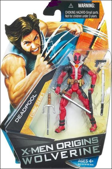 X-Men Origins: Wolverine Deadpool (Comic Series) by Hasbro