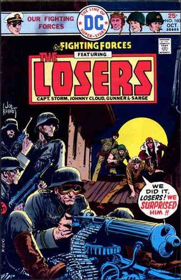 Our Fighting Forces (1954) 160-A by DC
