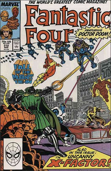 Fantastic Four (1961) 312-A by Marvel