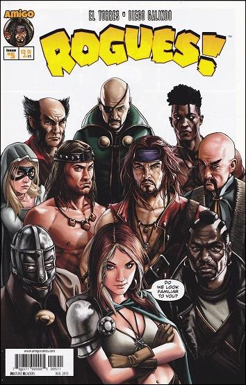 Rogues! (2013) 5-A by Amigo Comics