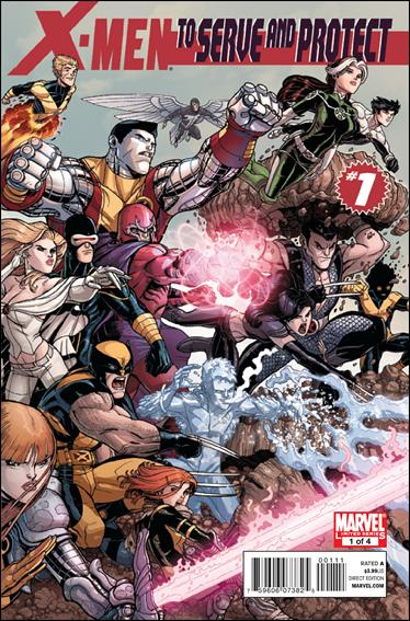 X-Men: To Serve and Protect 1-A by Marvel