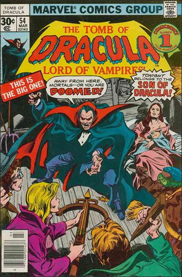 Tomb of Dracula (1972) 54-A by Marvel
