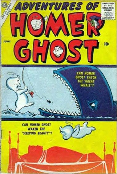 Adventures of Homer Ghost 1-A by Atlas