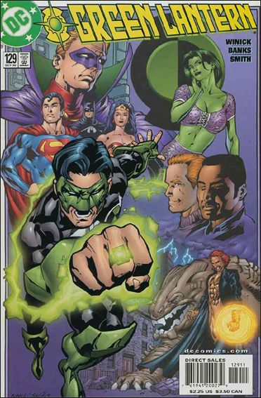 Green Lantern (1990) 129-A by DC