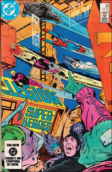 Legion of Super-Heroes (1980) 313-A by DC