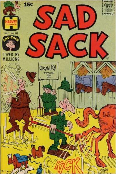 Sad Sack 222-A by Harvey