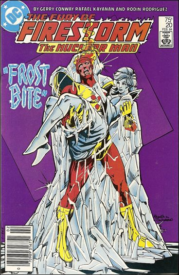 Fury of Firestorm 20-A by DC