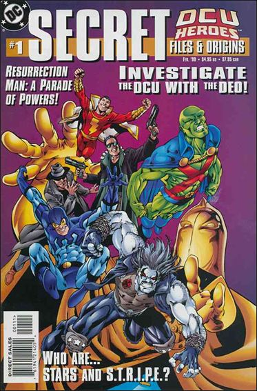 DCU Heroes: Secret Files and Origins 1-A by DC
