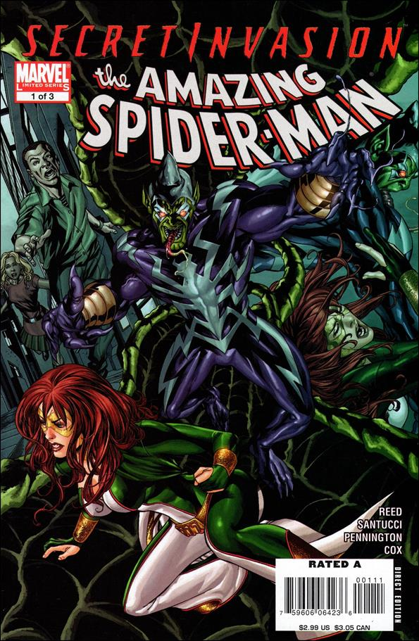 Secret Invasion: The Amazing Spider-Man 1-A by Marvel