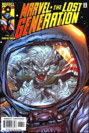 Marvel: The Lost Generation 6-A by Marvel