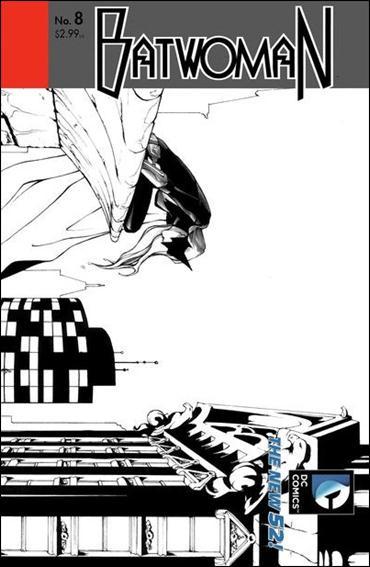 Batwoman 8-B by DC