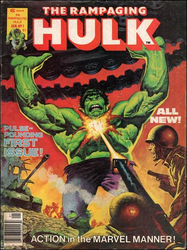 Rampaging Hulk (1977) 1-A by Marvel