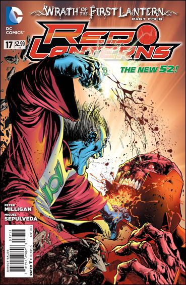 Red Lanterns 17-A by DC