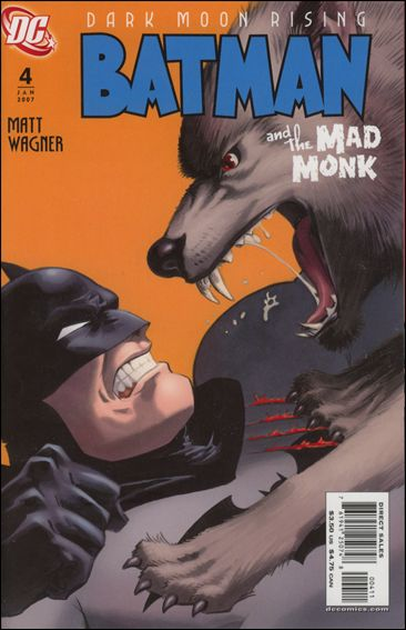 Batman and the Mad Monk 4-A by DC