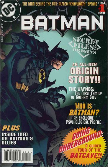 Batman: Secret Files and Origins 1-A by DC