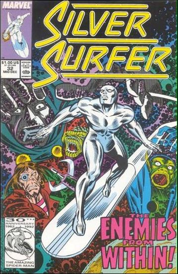 Silver Surfer (1987) 32-B by Marvel