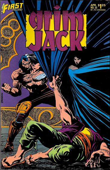 Grimjack 33-A by First