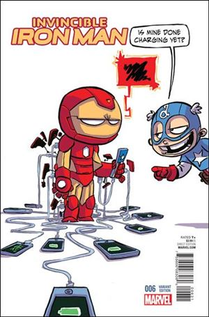 Invincible Iron Man (2015)  6-E