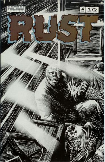 Rust (1987) 4-A by Now Comics