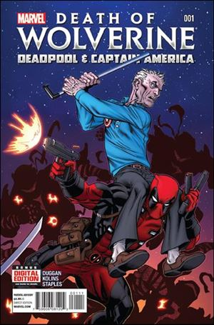 Death of Wolverine: Deadpool & Captain America 1-A