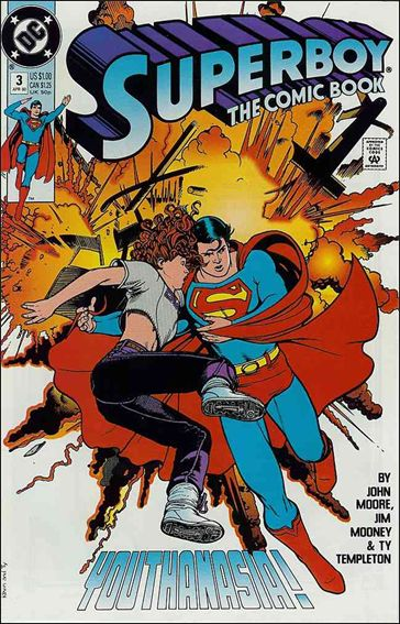 Superboy (1990) 3-A by DC
