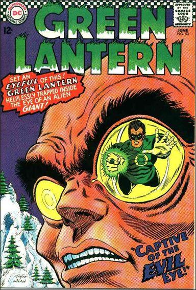 Green Lantern (1960) 53-A by DC