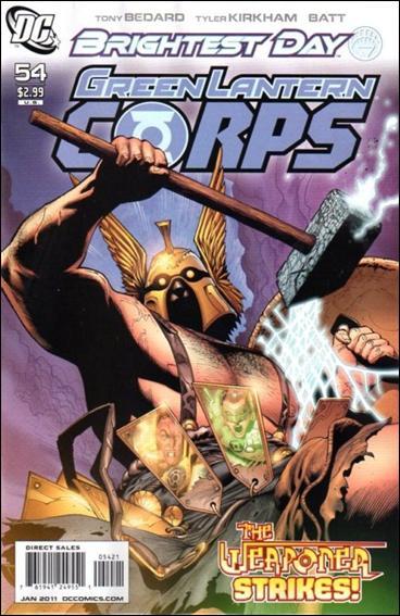 Green Lantern Corps (2006) 54-B by DC