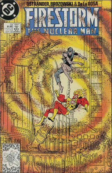 Firestorm The Nuclear Man (1987) 75-A by DC