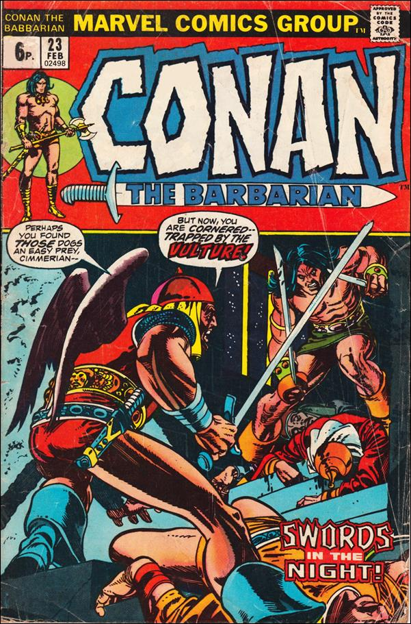 Conan the Barbarian (1970) 23-B by Marvel