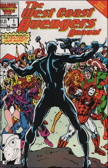 West Coast Avengers Annual 1-A by Marvel