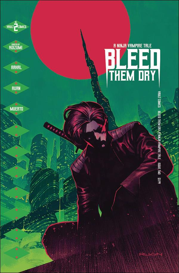 Bleed Them Dry 2-A by Vault Comics