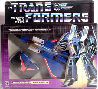 Transformers: More Than Meets the Eye (Generation 1) Thundercracker (Decepticon Warrior) by Hasbro