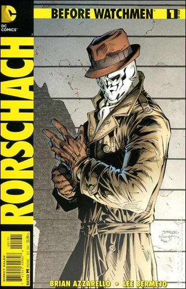 Before Watchmen: Rorschach 1-E by DC