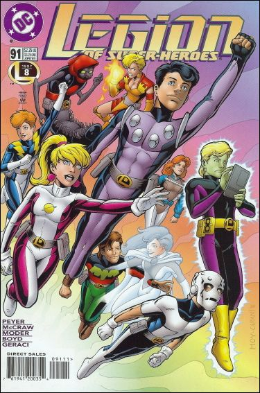 Legion of Super-Heroes (1989) 91-A by DC