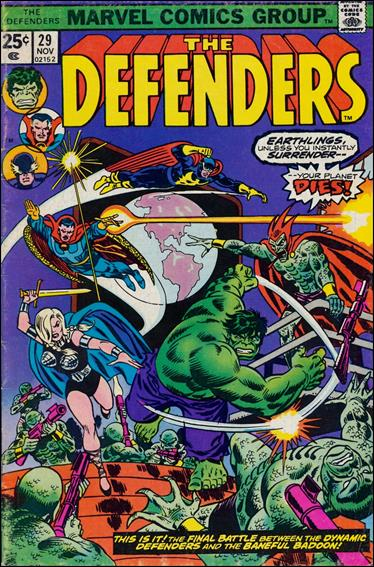 Defenders (1972) 29-A by Marvel