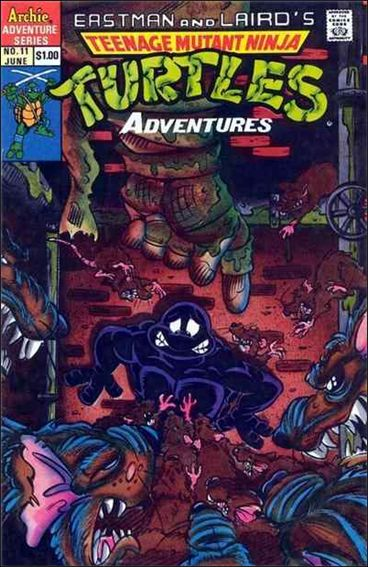 Teenage Mutant Ninja Turtles Adventures (1989) 11-A by Archie
