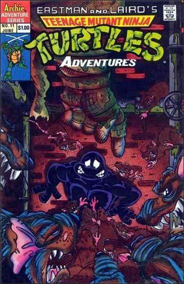 Teenage Mutant Ninja Turtles Adventures (1989) 11-A by Archie