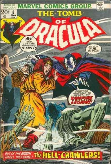 Tomb of Dracula (1972) 8-A by Marvel