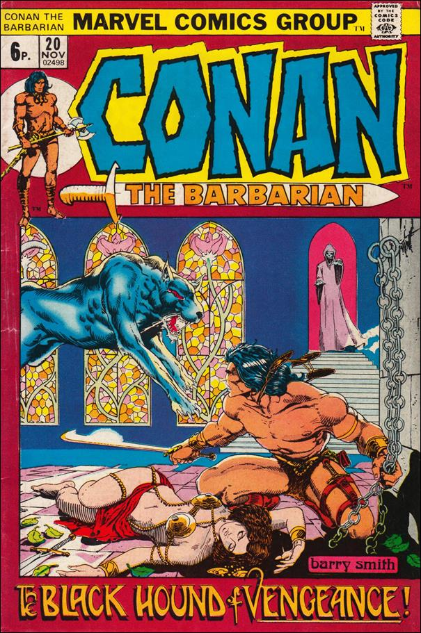Conan the Barbarian (1970) 20-B by Marvel