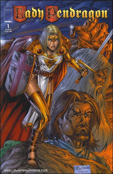 Lady Pendragon (1998) 1-A by Image
