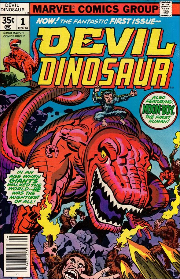 Devil Dinosaur 1-A by Marvel