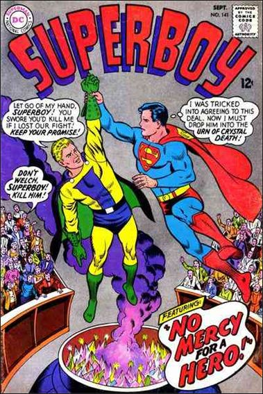 Superboy (1949) 141-A by DC