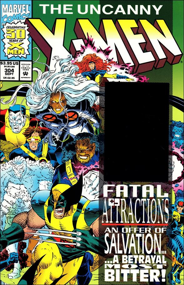 Uncanny X-Men (1981) 304-A by Marvel