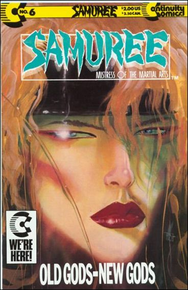 Samuree (1987) 6-A by Continuity Comics