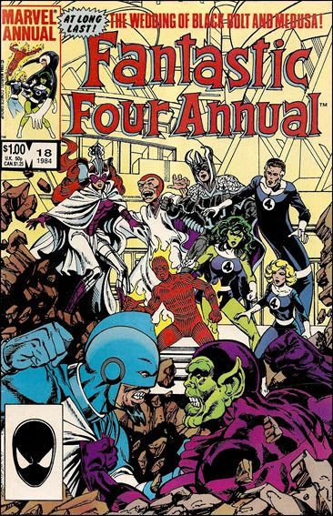 Fantastic Four Annual  18-A by Marvel