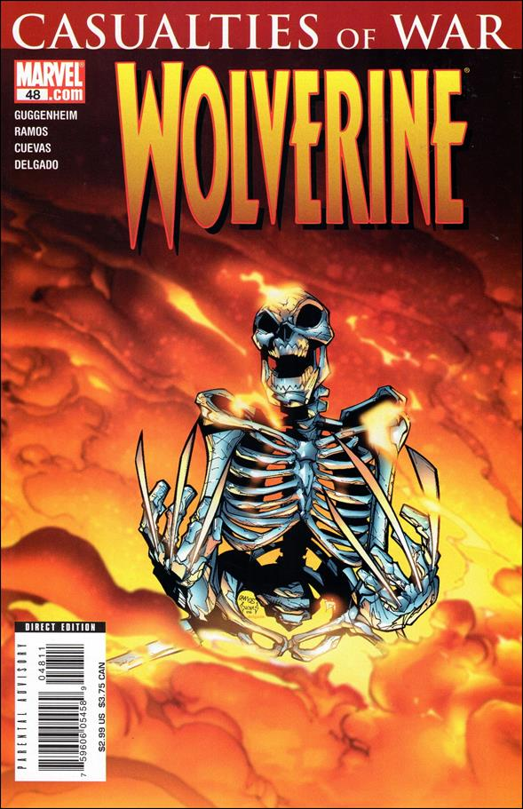 Wolverine (2003)  48-A by Marvel